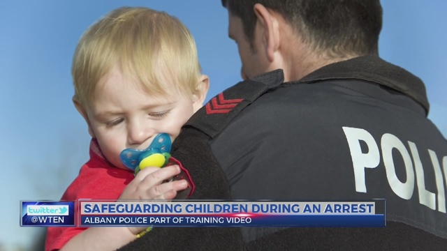 Albany PD develops policy to deal with arrests in front of children