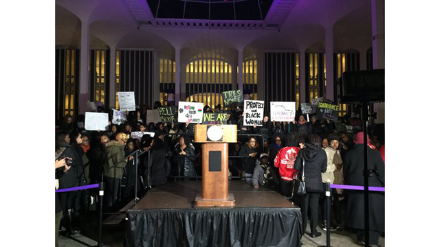 Hundreds gather for rally after reported attack on black UAlbany students