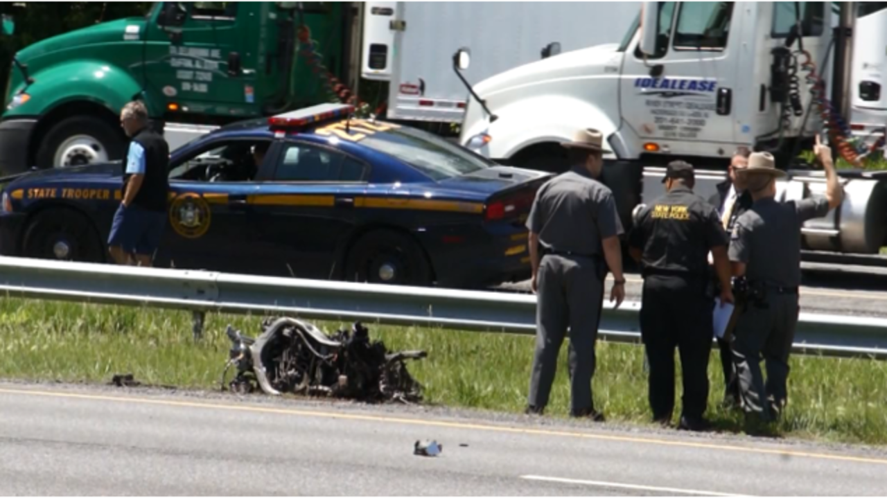 Thruway Accident Marks 6th Motorcycle Fatality In Capital Region In 2016