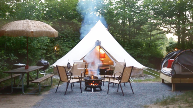 When camping turns glamorous: Glamping comes to Lake George