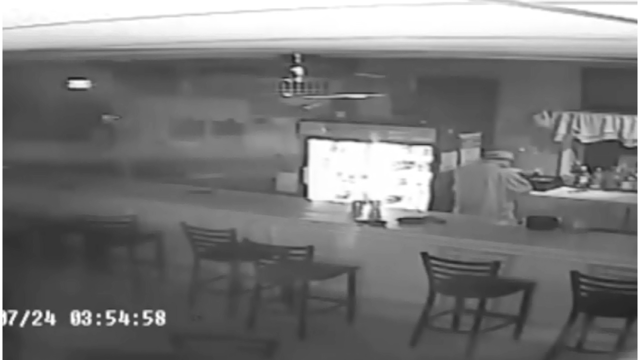Surveillance video released in American Legion burglary