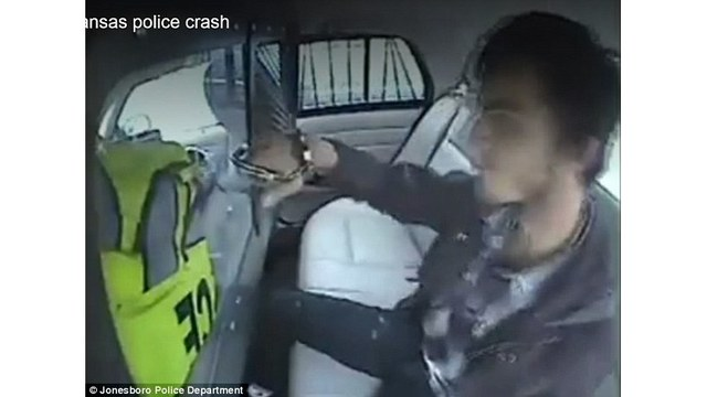 Teen Ejected Out Back Windshield Of Cop Car After Crash
