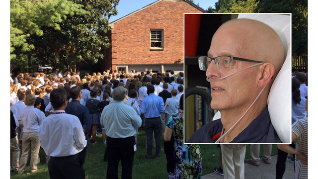 Tenn. teacher serenaded by students dies after battle with cancer