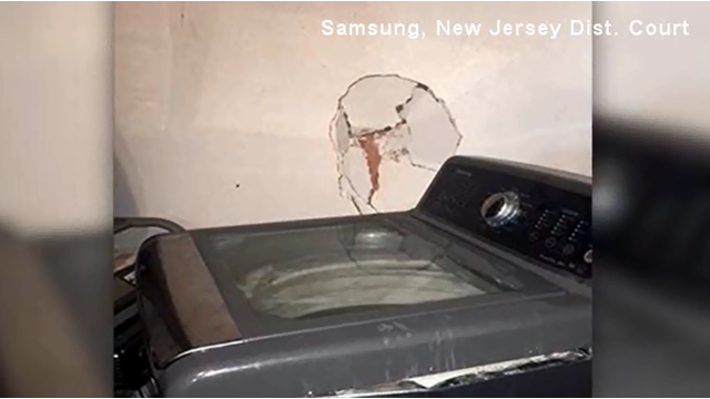 Reports of exploding Samsung washing machines lead to warning