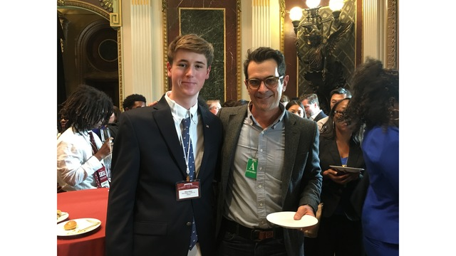 TX High student honored at the White House for short film inspired by police protest
