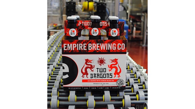 Gov. Cuomo announces licensed I LOVE NEW YORK beer will be distributed in China