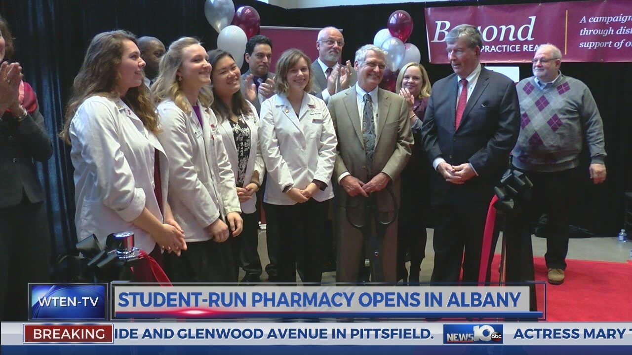 Student-run pharmacy opens in Albany