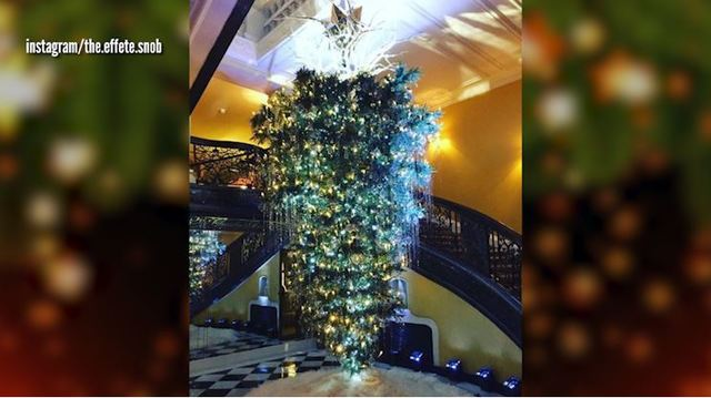 upside down christmas tree trend sparks controversy online