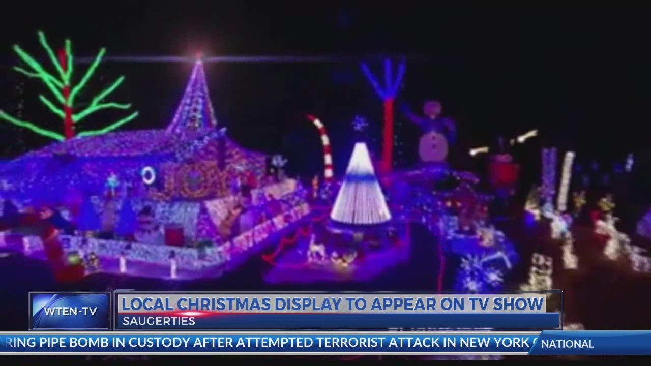 Local Christmas display to appear on ABC show