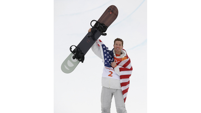 Shaun White wins 3rd Olympic gold in contest for the ages