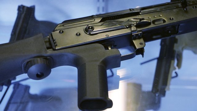 Justice Department proposes banning rapid-fire bump stocks