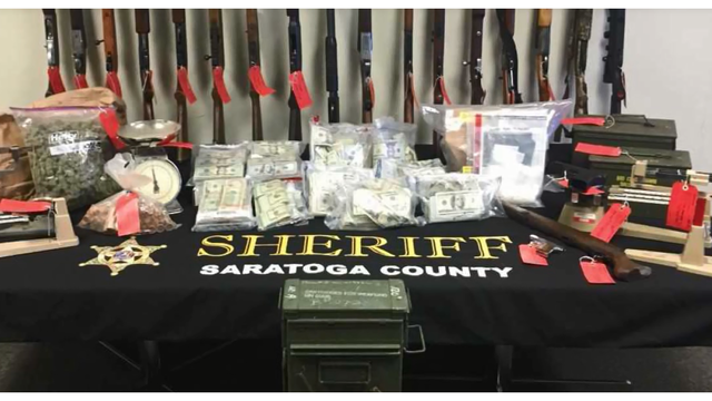 Drug ring busted in Saratoga County