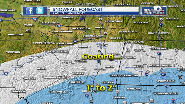Snow in the Forecast, Little Accumulation Expected