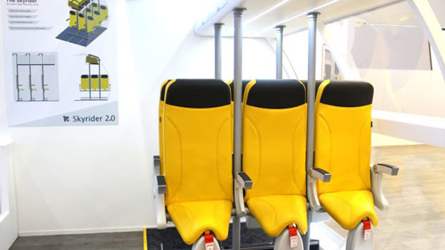 Saddle-seats may be future of airline travel