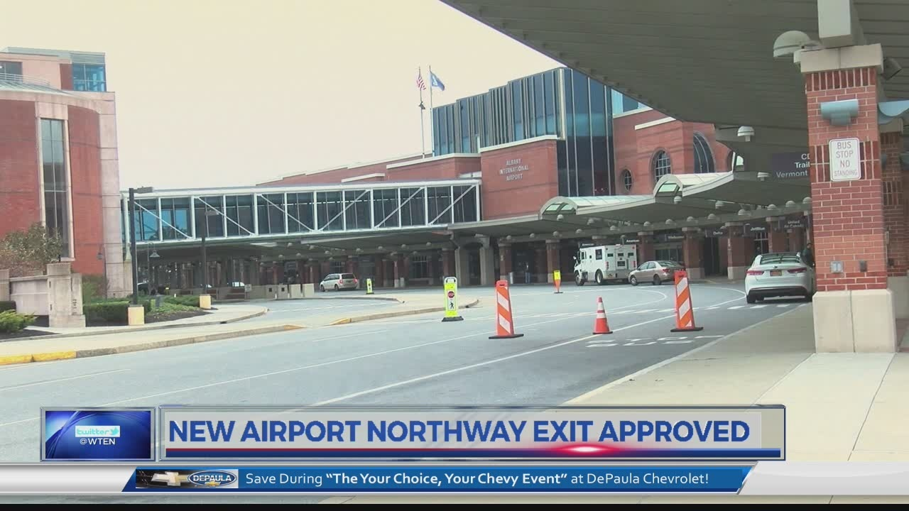 New Albany Int'l Airport exit approved 4/26