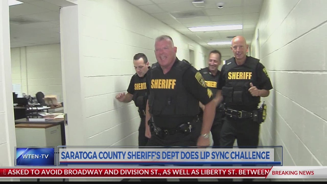Saratoga County Sheriff's Department does lip sync challenge