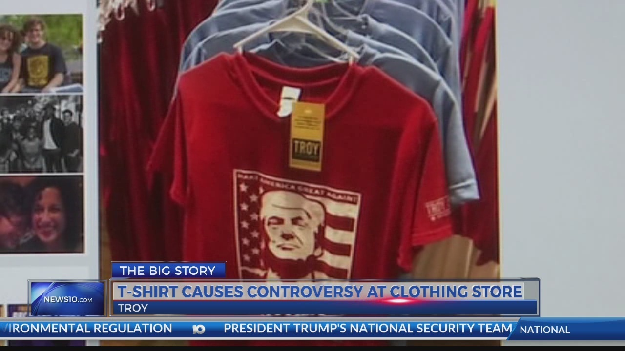 T Shirt Causes Controversy At Troy Retail Store
