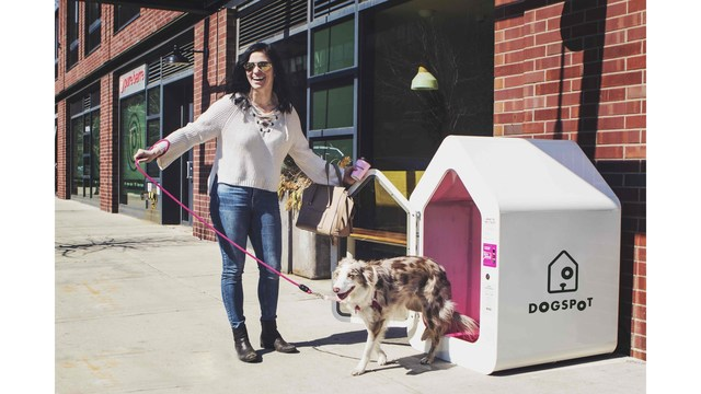 Cool dogs: Air-conditioned pet huts placed at NY travel plazas
