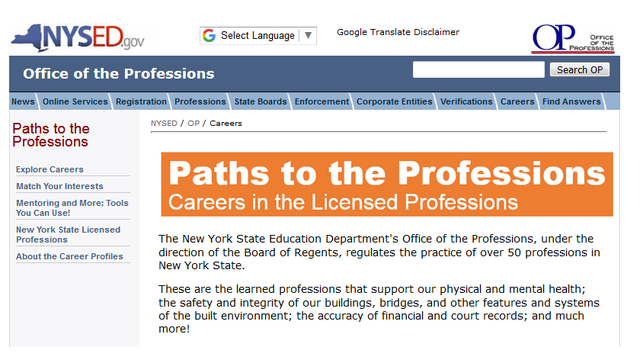 Education Department Launches New >> Ny Education Department Launches Paths To Profession Website