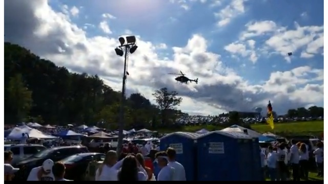 FAA investigating State Police use of helicopter to disperse crowd
