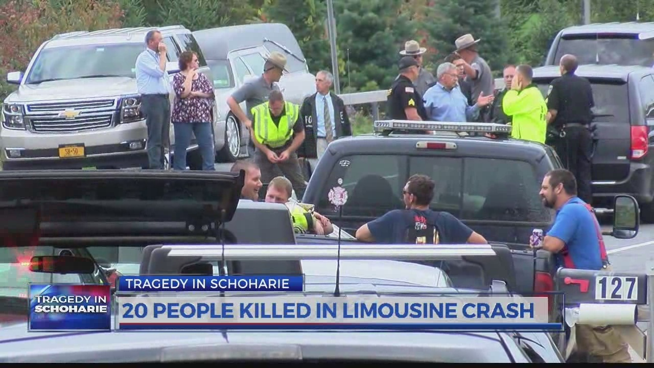 20 killed in limo crash on route 30 in schoharie