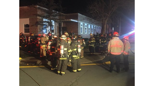 crews rescue residents from menands apartment fire
