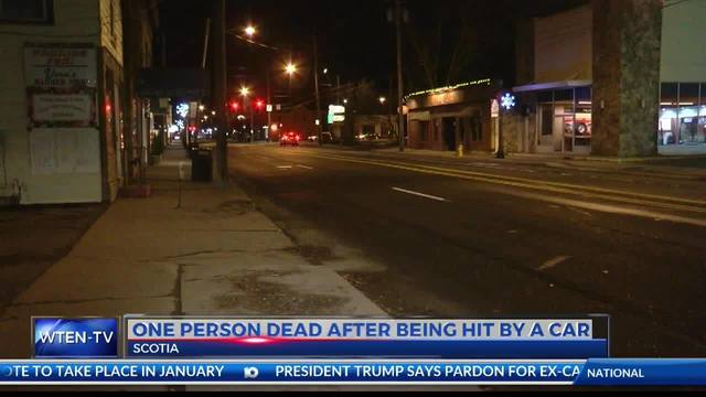 One Person Dead After Being Hit by a Car