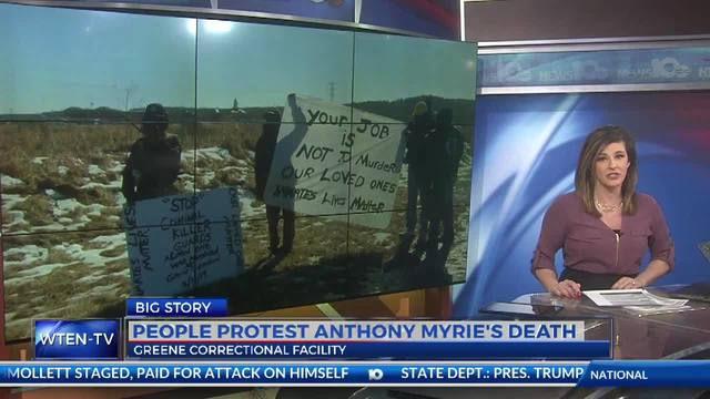 People Protest Anthony Myrie's Death