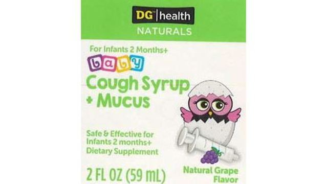 Infant cough syrup recalled due to possible contamination