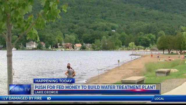 Push for federal money to build water treatment plant at