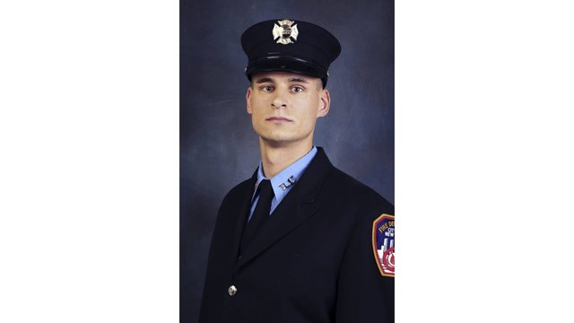 NY funeral for Marine and firefighter killed in Afghanistan