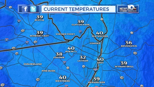 Current Temperature Map Of The United States.Map Center News10 Abc